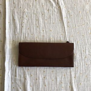 NWOT GiGi New York leather document holder